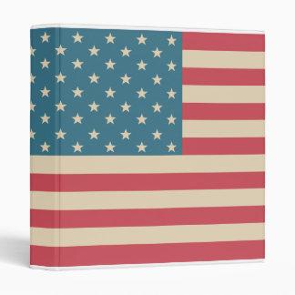 Carpeta del libro de recuerdos de la bandera ameri