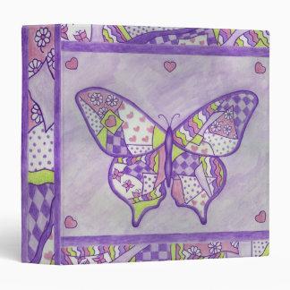 Carpeta del libro de recuerdos de la mariposa