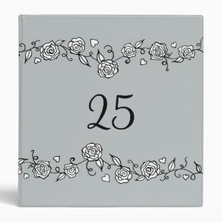 Carpeta del libro de recuerdos del aniversario de