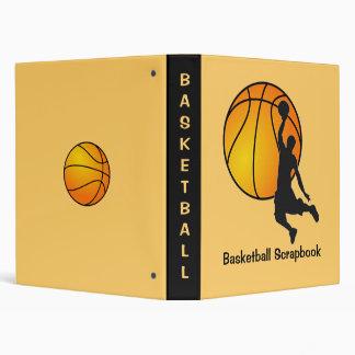 Carpeta del libro de recuerdos del baloncesto