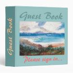 Carpeta del libro de visitas de las vacaciones