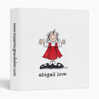 carpeta del libro del amor de Abigail