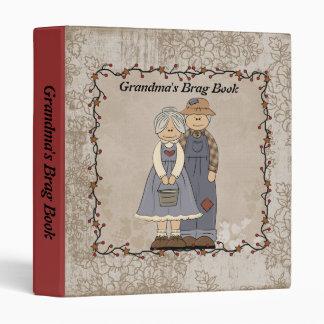 Carpeta del libro del Brag de la abuela