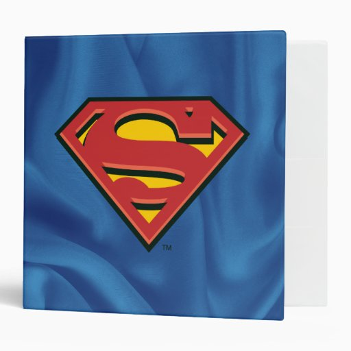 Carpeta del logotipo del superhombre