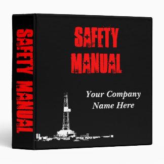 Carpeta del manual de la seguridad