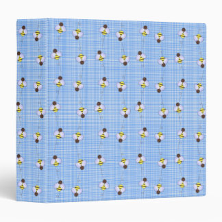 Carpeta del modelo de las abejas ocupadas