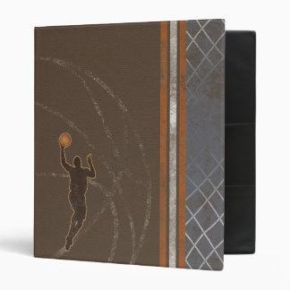 Carpeta del muchacho del baloncesto