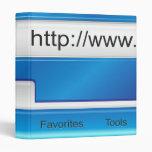 Carpeta del navegador del Web page