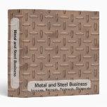 Carpeta del negocio de la placa de cobre