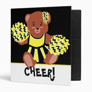 Carpeta del oso de la animadora