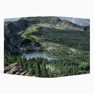 Carpeta del paisaje de la naturaleza