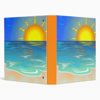 Carpeta del paisaje marino