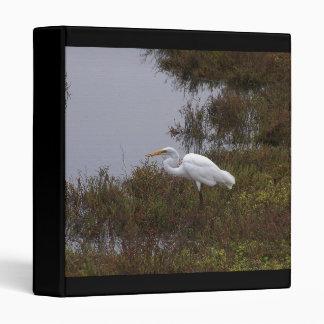 Carpeta del pájaro del Egret