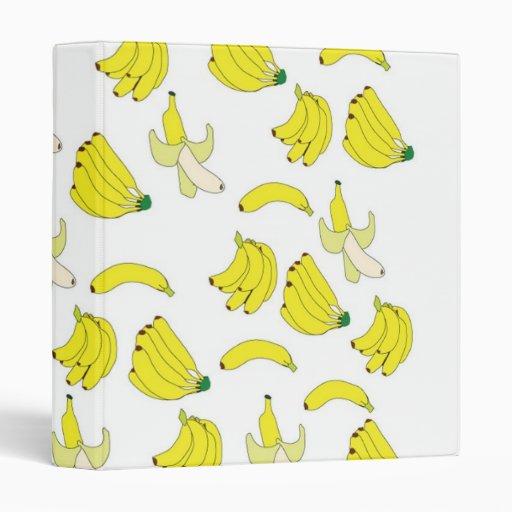 Carpeta del papel pintado del plátano