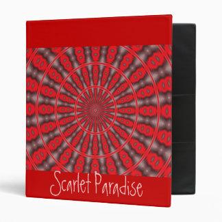 Carpeta del paraíso de los escarlatas