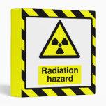 Carpeta del peligro de radiación