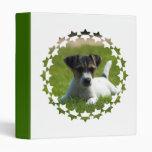 Carpeta del perrito de Jack Russell Terrier