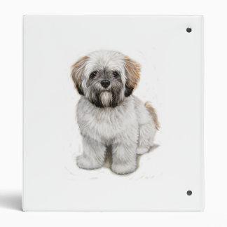 Carpeta del perrito del apso de Lasa