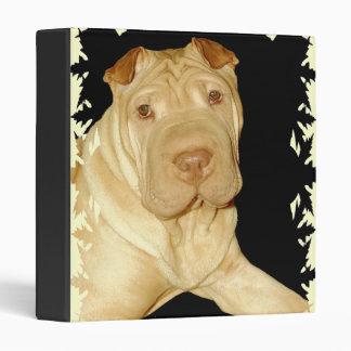 Carpeta del perro de Shar Pei