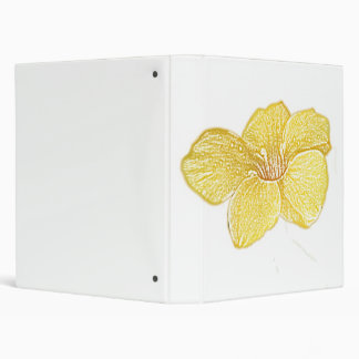 Carpeta del personalizable del dibujo de la flor