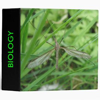Carpeta del personalizado de la biología de la