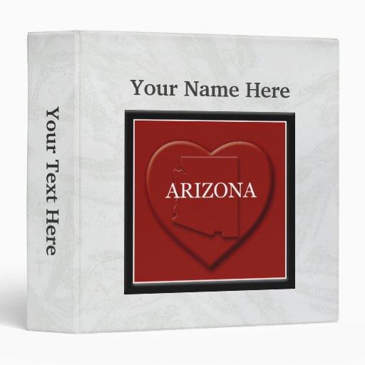 Carpeta del personalizado del mapa del corazón de