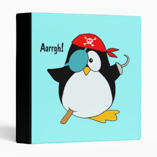Carpeta del pingüino del pirata