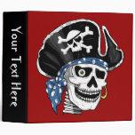 Carpeta del pirata del cráneo