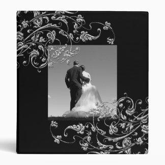 Carpeta del plantilla del boda de Álbum de fotos d