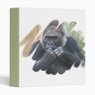 Carpeta del primate del gorila