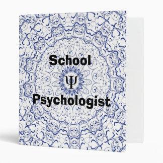 Carpeta del psicólogo de la escuela