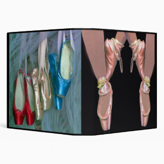 Carpeta del recuerdo del bailarín de ballet