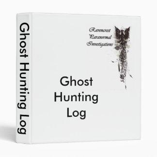 Carpeta del registro de la caza del fantasma de RP
