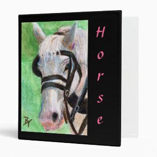 Carpeta del retrato del caballo