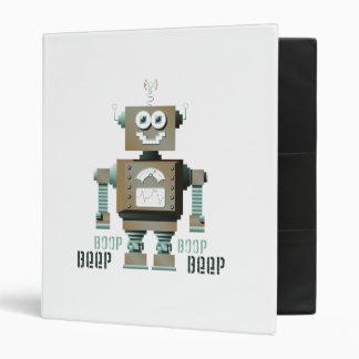 Carpeta del robot del juguete de la señal sonora