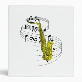 Carpeta del saxofón