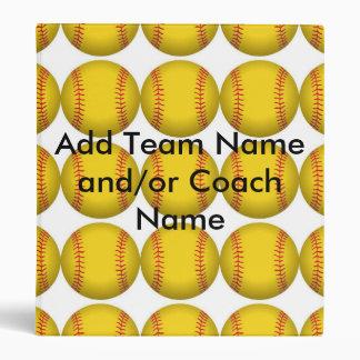 Carpeta del softball