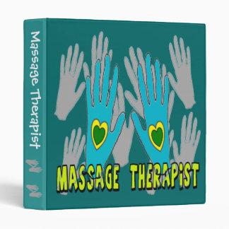 CARPETA del terapeuta del masaje
