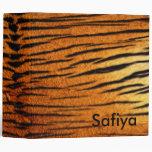 Carpeta del tigre personalizada