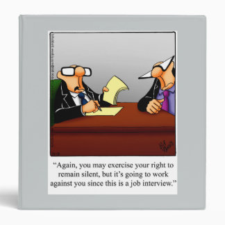Carpeta del trabajo del humor de los asuntos