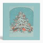 Carpeta del trullo del árbol de navidad del