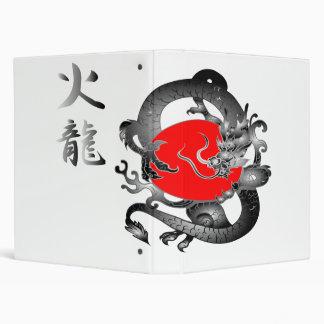 Carpeta del vector del dragón del fuego de la band