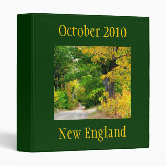Carpeta del viaje de la temporada de otoño