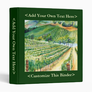 Carpeta del viñedo de California