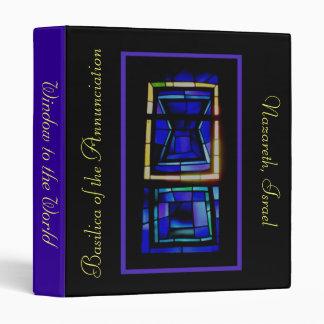 Carpeta del vitral de Nazaret