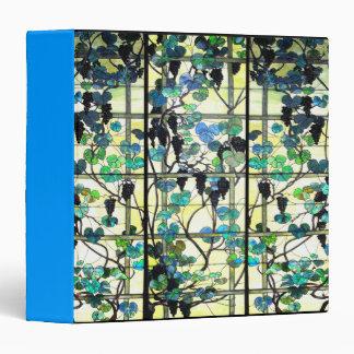 Carpeta del vitral de Nouveau del arte