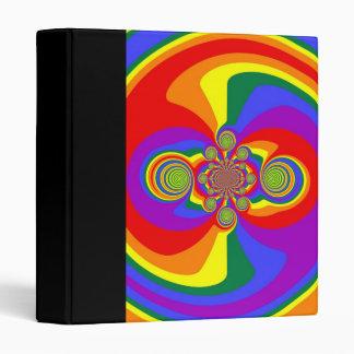 Carpeta del vórtice del orgullo del arco iris