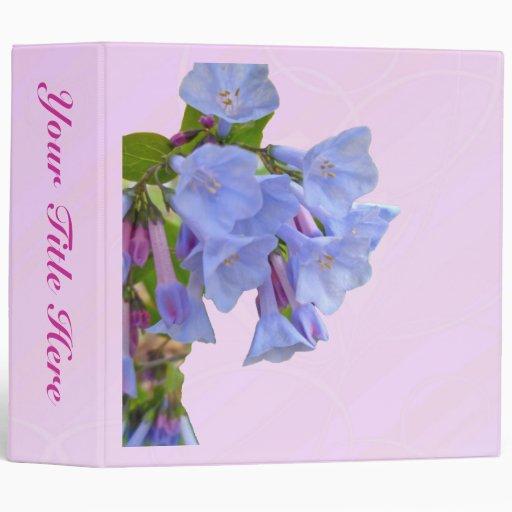 Carpeta del Wildflower de los Bluebells de Virgini