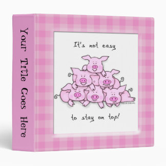 Carpeta divertida de la escuela del cerdo del dibu