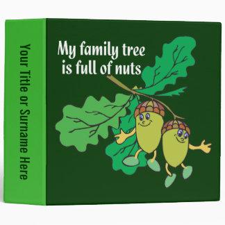 Carpeta divertida de la genealogía